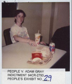 14-year-old Adam Gray