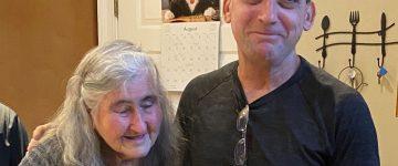 Robert DuBoise with his mother, Myra DuBoise